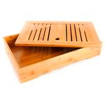 Доска для чайной церемонии (чабань) из бамбука Время чая 35,5 х 23,5 х 7 см купить за 2300 руб.