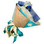 Букет из чая - Зимний цветок - Подарочный набор чайный букет купить за 1200 руб.
