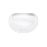Пиала стеклянная необжигающая с двойными стенками 50 мл купить за 130 руб.