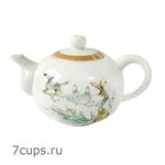 Чайник фарфоровый Птица на ветке 170 мл купить за 600 руб.