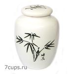 Чайница фарфоровая Бамбук 300 мл купить за 600 руб.
