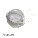 Шарик для заваривания чая на цепочке 65 мм купить за 220 руб.