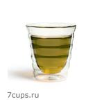 Чашка-стакан необжигающая с двойными стенками Тама 180 мл из жаропрочного стекла купить за 380 руб.