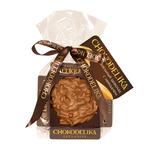 Шоколадная плюшка Chokolelika Карамельный шоколад с миндалем, 30 гр купить за 170 руб.