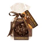 Шоколадная плюшка Chokolelika Темный шоколад с миндалем, 30 гр купить за 170 руб.
