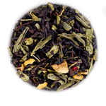 Имбирь и малина 100 гр - Черный чай с натуральными добавками купить за 235 руб.
