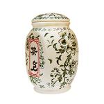 Чайница керамическая Пион цвет зеленый 550 мл купить за 520 руб.