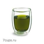 Чашка-стакан необжигающая с двойными стенками Лотос 200 мл из жаропрочного стекла купить за 260 руб.