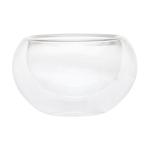 Пиала стеклянная необжигающая с двойными стенками 150 мл купить за 250 руб.