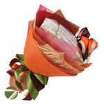 Букет из чая - Осенний цветок - Подарочный набор чайный букет купить за 1200 руб.