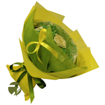 Голландская роза желтая - Чайный букет - Подарочный набор купить за 1600 руб.
