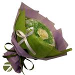 Букет из чая - Голландская роза аметистовая - Подарочный набор чайный букет купить за 1600 руб.