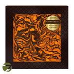 Узорный шоколад в коробке Chokolelika Апельсин и кешью, 80 гр купить за 300 руб.