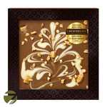 Узорный шоколад в коробке Chokolelika Карамель и воздушный рис, 80 гр купить за 300 руб.