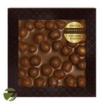 Неровный шоколад в коробке Chokolelika Молочный с фундуком, 80 гр купить за 300 руб.