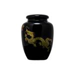 Чайница фарфоровая Дракон черный 300 мл купить за 600 руб.