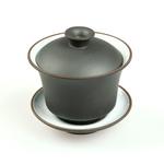 Гайвань из глины Черная с эмалью 100 мл купить за 320 руб.