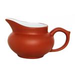 Чахай (сливник) глиняный Традиционный рыжий с эмалью 100 мл купить за 250 руб.
