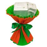 Букет из чая - Лютик оранжевый - Подарочный набор чайный букет купить за 500 руб.