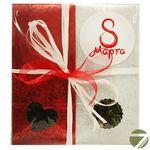 Подарочный чайный набор - Красное Восьмое марта №2 купить за 450 руб.