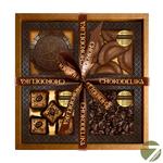 Подарочный шоколадный набор в коробке Темный шоколад, 280 гр купить за 1850 руб.