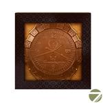 Шоколадная медаль Командирские часы из молочного шоколада Chokodelika 40 гр купить за 240 руб.