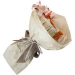 Букет из чая - Альпийский эдельвейс - Подарочный набор чайный букет купить за 5000 руб.
