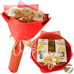 Букет из чая - Любимому учителю - Подарочный набор чайный букет купить за 1450 руб.