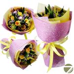 Букет из чая - Цветочная поляна - Подарочный набор чайный букет купить за 1100 руб.