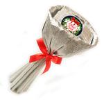 Букет из чая - Лютик новогодний в серебре - Подарочный набор чайный букет купить за 600 руб.