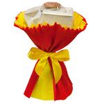 Букет из чая - Лютик красный - Подарочный набор чайный букет купить за 570 руб.