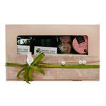 Коробка подарочная с чаем - Жемчужное Восьмое марта купить за 800 руб.