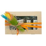 Коробка подарочная с чаем - Весеннее настроение купить за 570 руб.