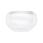 Пиала стеклянная необжигающая с двойными стенками 100 мл купить за 190 руб.