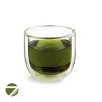 Чашка-стакан необжигающая с двойными стенками Толстячок 270 мл из жаропрочного стекла купить за 300 руб.