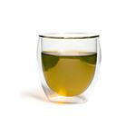 Чашка-стакан необжигающая с двойными стенками Киото 200 мл из жаропрочного стекла купить за 360 руб.