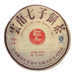 "Шу Пуэр ""0625"" (Блин) 2008 год 344 гр Фабрика Хонг Ли купить за 2380 руб."