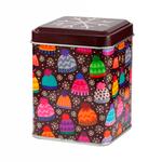 Банка для чая, сахара и конфет металлическая Веселые шапочки, 100 мл купить за 367 руб.
