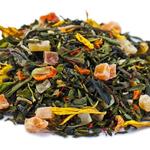 Бенгальский тигр 50 гр - Зеленый чай с фруктово-цветочными добавками купить за 114 руб.