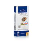 Бумажные фильтры для чая отбеленные Finum, размер XS, 100шт/уп купить за 370 руб.