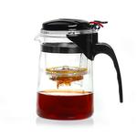 Чайник стеклянный заварочный с кнопкой Гунфу Sama (типот) 500 мл купить за 520 руб.