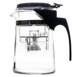 Чайник стеклянный заварочный с кнопкой Гунфу Runying (типот) 500 мл купить за 700 руб.