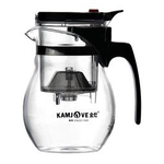 Чайник стеклянный заварочный с кнопкой Гунфу KAMJOVE (типот) 600 мл купить за 1370 руб.