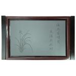 Доска для чайной церемонии (чабань). Дерево/камень/пластик  52 х 37 х 6  см купить за 2700 руб.