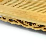 Чайная доска (чабань) из бамбука 40 х 27,8 х 6,5 см купить за 3500 руб.