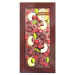Шоколад с украшением Chokodelika темный с брусникой, вишней, кешью, 100 гр купить за 350 руб.
