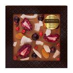 Шоколад с украшением Chokodelika молочный с ежевикой, кокосом, миндалем,  75 гр купить за 300 руб.