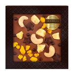 Шоколад с украшением Chokodelika молочный с кешью, ананасом, апельсином 75 гр купить за 300 руб.