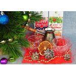 Новогодний набор посуды - Кофейная зима купить за 1850 руб.