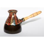 Турка керамическая Павлин 400 мл купить за 2100 руб.